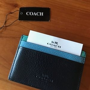 Coach Signature Card Holder